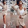 Элегантное  платье-пиджак Джинс бенгалин