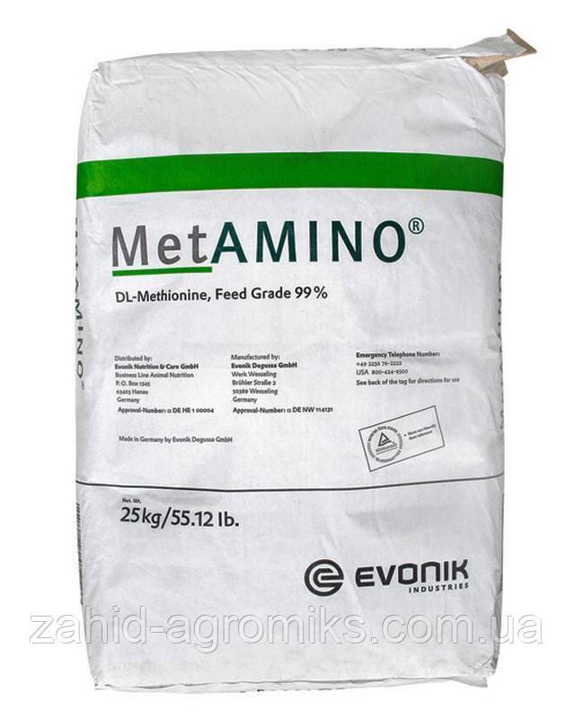 Метионин кормовой 99% (фасовка 25 кг)