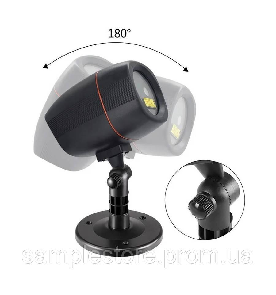 Уличный лазерный проектор I Лазер уличный RD-7184 Bluetooth (точечный)