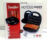 Аппарат для приготовления корн-догов -  Sonifer HOTDOG Maker SF-6069,  800W, фото 3