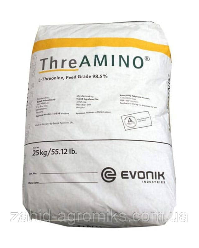 Аминокислота Треонин кормовой 98% Evonic