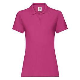 Женские футболки поло хлопковые (63-030-0)