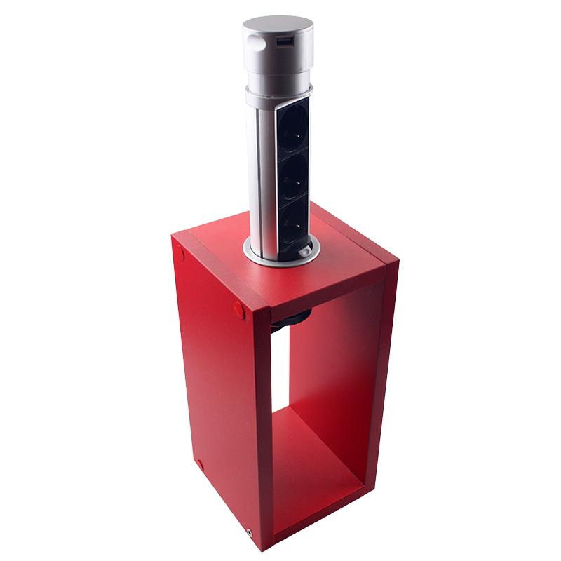 ElectroHouse Компактная мебельная розетка EH-AR-303