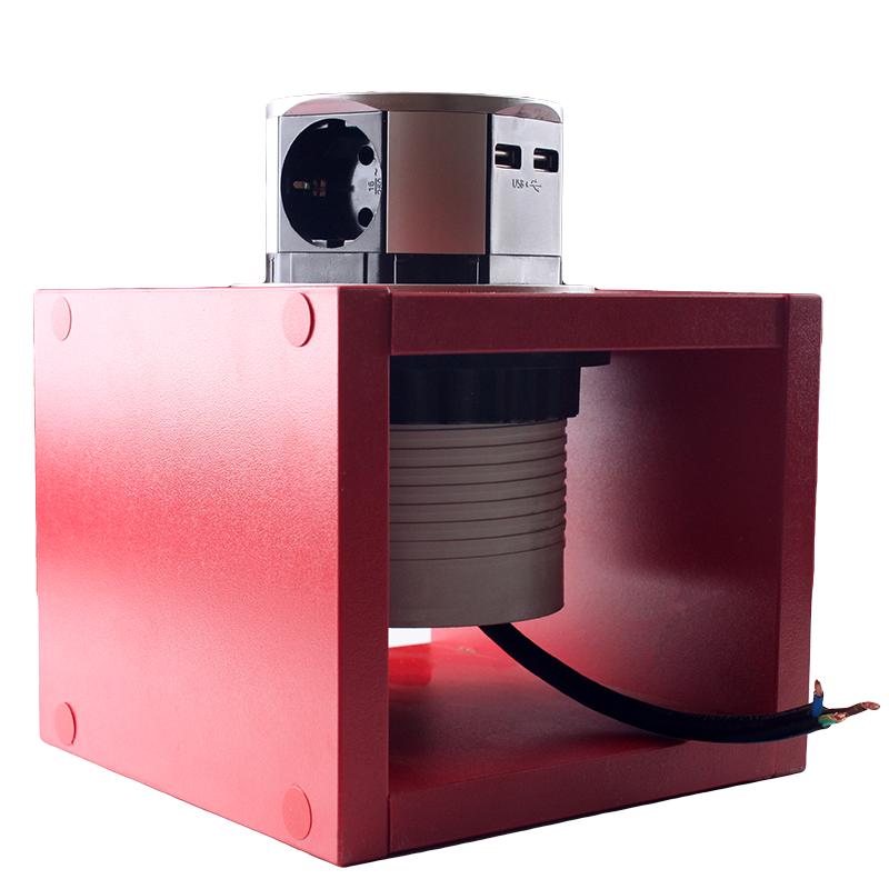 ElectroHouse Компактная мебельная розетка EH-AR-302