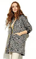 Женская куртка-парка Mualla Zaps черного цвета. Коллекция весна-лето 2020