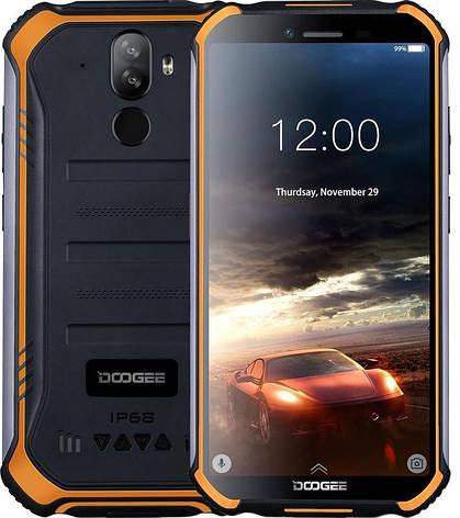 """Смартфон Doogee S40 Lite 2/16GB Dual Sim Fire Orange; 5.5"""" (960х480) IPS / MediaTek MT6580 / ОЗУ 2 ГБ / 16 ГБ встроенной + microSD до 128 ГБ / камера, фото 2"""