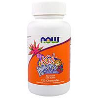 Витамины для детей NOW Kid Vits - berry blast - 120 таб