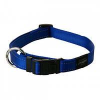 Ошейник для собак Utility, со светоотражающими нитками,L, 34-56 голубой