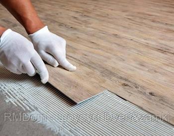 Монтаж вінілового підлоги