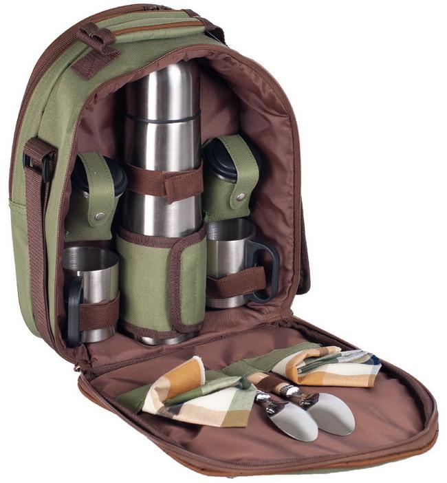 Набір для пікніка Ranger Compact (посуд на 2 персони + сумка з термо-відсіком)
