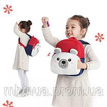 Детский рюкзак Nohoo Мишка с муфтой (NHQ004), фото 2