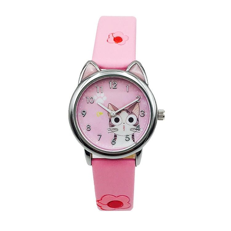 Детские часы Joyrox kitty pink
