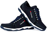 40, 43 і 45 р. Чоловічі кросівки - туфлі спортивні синього кольору кроссовки