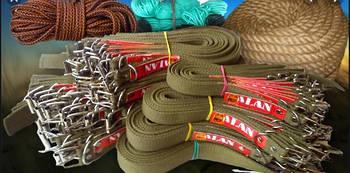Тросы, проволока, канаты и веревки