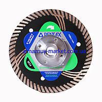 Круг (диск), сухорез для резки гранита Pentax GV d125 на М14 с фланцем