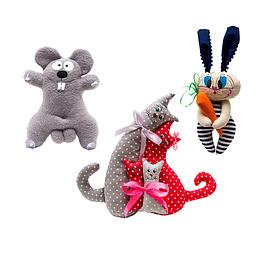 Игрушки животные малые.