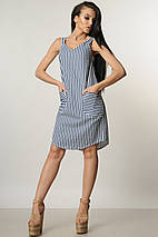 Короткий сарафан в полоску без рукавов (Милена ri), фото 2