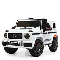 Детский электромобиль Джип M 4179EBLR-1 белый