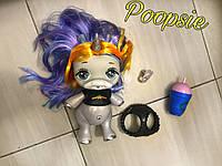 Кукла единорог Пупси с волосами Poopsie 30 см с аксессуарами звук и свет эффекты