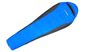 Спальник Terra Incognita Siesta 100 Regular R правий Синій / сірий (TI-05211)