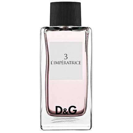 Dolce Gabbana Anthology L`Imperatrice 3 EDT 100 ml TESTER, фото 2