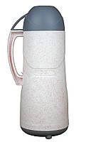 Термос пластиковый со стеклянной колбой Stenson DB105SX-L 0.5 л White/Pink