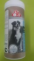 Пивные дрожжи с чесноком для собак крупных пород 8in1 80 таблеток
