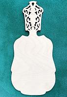 Доска разделочная из фанеры 17.5х37см