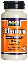 NOW_Selenium 200 мкг - 180 веган кап
