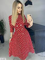 Красивое платье цвет красный, фото 1