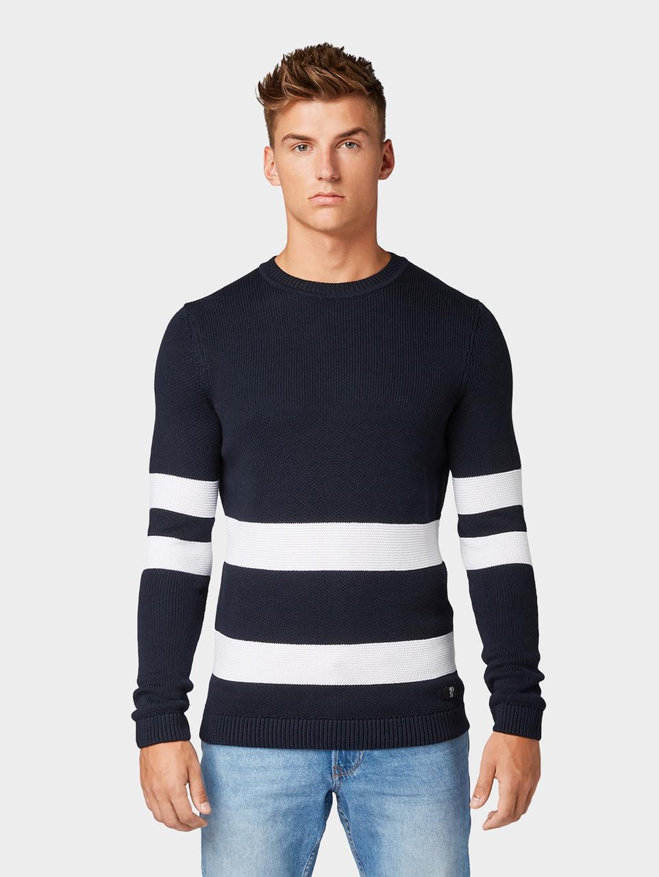 Джемпер Tom Tailor 1013694 XL Темно-синий