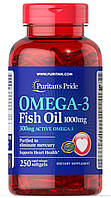 Omega-3 Fish Oil 1000 mg (300 mg Active Omega-3) - 250 софт