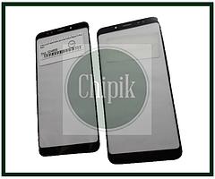 Стекло для переклейки дисплея Xiaomi Redmi 5 Plus, Черное