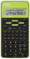 Калькулятор SHARP EL-531TH green