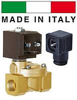 """Электромагн. клапан CEME (Италия) 8615, НЗ, 3/4"""", 90 C, 220В нормально закрытый для воды, воздуха."""