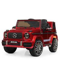 Детский электромобиль Джип M 4179EBLRS-3 красный крашенный