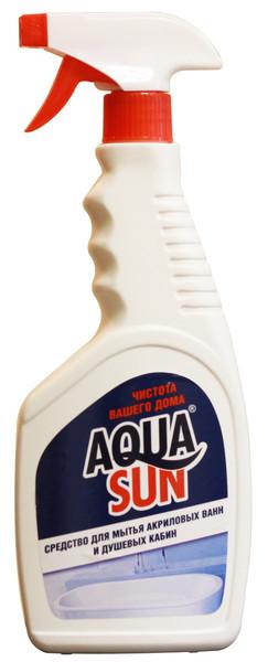 Средство для мытья акриловых ванн и душевых кабин AquaSun (500мл.)