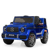 Детский электромобиль Джип M 4179EBLRS-4 синий крашенный