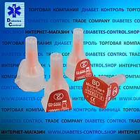 Голки 6 мм для інсулінових шприц-ручок Microfine / Микрофайн універсальні 10 шт.