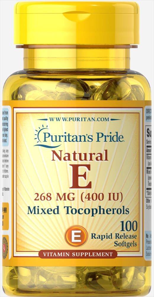 PsP Vitamin E-400 iu Mixed Tocopherols Natural - 100 софт