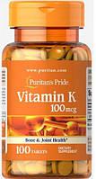 PsP Vitamin K 100 mcg - 100 таб, фото 1