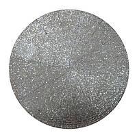 Подкладка под тарелку Henriette 35 см серебро D15509, фото 1