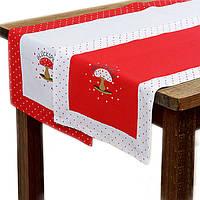 Дорожка-скатерть на стол хлопок 140 х 40 см