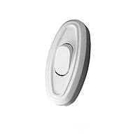 ElectroHouse Выключатель для бра белый Garant.