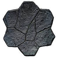 """Штамп полиуретановый """"Цветок"""" для создания декоративного бетона (Из вулканизированной резины)"""