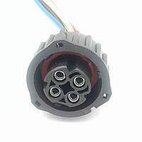 Разъем автомобильный байонетный 4-х контактный