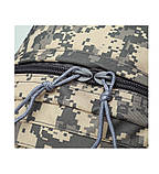 Рюкзак міський тактичний темно-сірий камуфляж з шевроном SWAT, фото 5