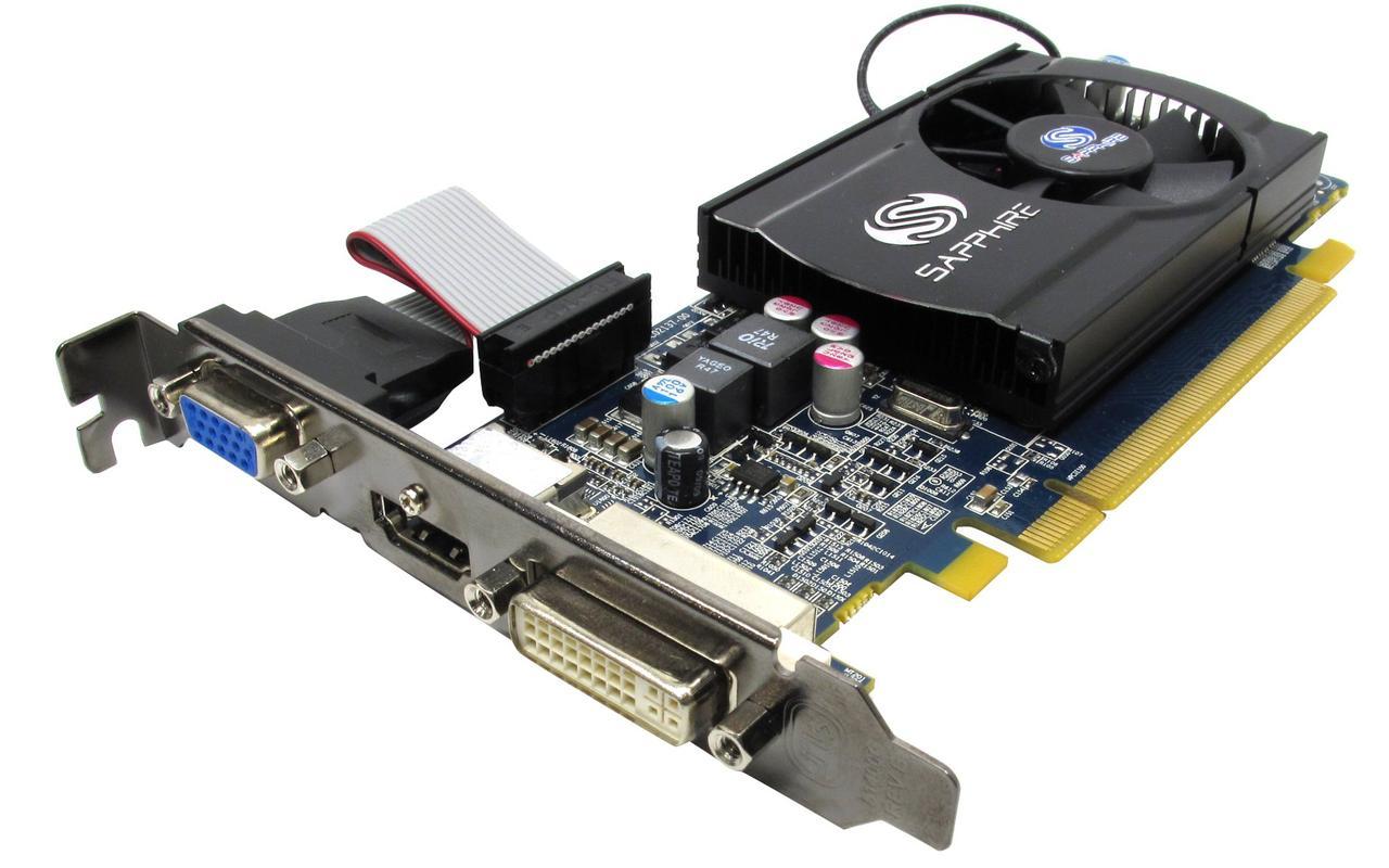 Видеокарта, RADEON HD 5570, 1 Гб, GDDR3