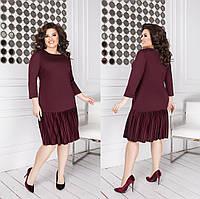 Платье женское трикотажное в расцветках 38968, фото 1