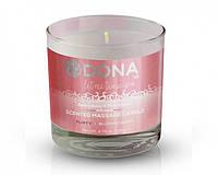 Массажная свеча DONA Scented Massage Candle Blushing Berry FLIRTY (135 г)